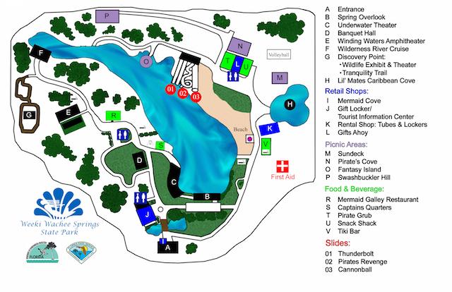 Weeki-Wachee-Park-Map